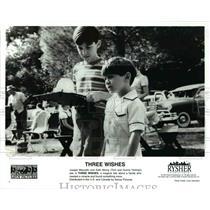 1995 Press Photo Joseph Mazzello and Seth Mumy in Three Wishes