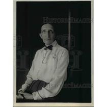 1920 Press Photo Argentinian Private Secretary Elizabeth Hyde Sirvent