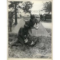 1937 Press Photo National Guard