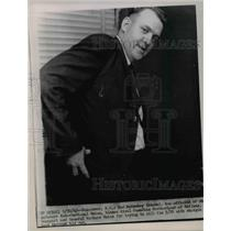1963 Press Photo Rod Heinekey Seafarers International Union