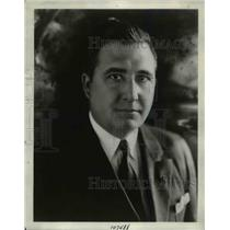 1929 Press Photo Allen McQuhae Radio Singer Recording Artist Brunswick Records