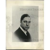 1926 Press Photo Paul B. Klugh, National Association of Broadcaster chairman