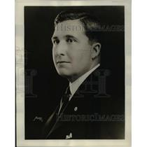 1929 Press Photo Radio announcer Allen McQuhae - ned82140