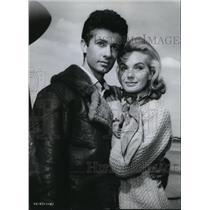 1965 Press Photo George Chakaris with Maria Perschy - cva35025