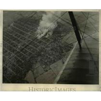 1930 Press Photo Burning Chenandega