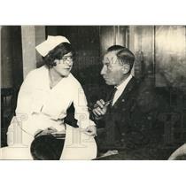 1925 Press Photo Jerry Taibot and Nurse Amnesia Victim