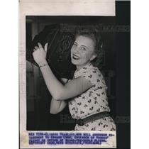 1938 Press Photo of Elinore Hoagland .