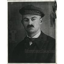 1923 Press Photo Dr. Arpad Szabados, Husband of Freda Gardos