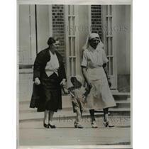 1938 Press Photo Lance Haugwitz-Reventlow, son of Countess Haugwitz-Reventlow,