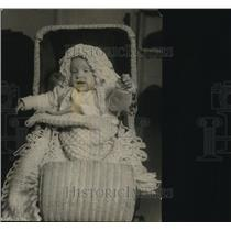 1923 Press Photo Jean Allys Davis, baby of the Harding Cabinet