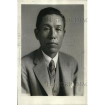 1928 Press Photo Capt. Tsuneyoshi Sakano, the New Naval Attache