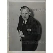 1936 Press Photo of Dr. Clinton Wunder