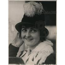 1918 Press Photo Ms. Margaret Lysight, The Mary Pickford of Japan - nex55585