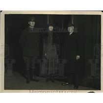 1922 Press Photo Sergeant Woodfill Award Kindly Act Week William Sleeper Keith