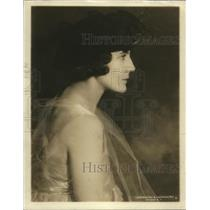1918 Press Photo Mrs Lillian Cluster