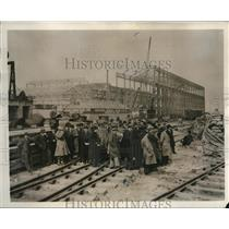 1931 Press Photo Car Dealers Visit Ford Motor Plant Factories, England