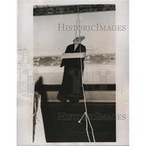 1932 Press Photo of an effigy of Tom Girdler, a steel company executive.