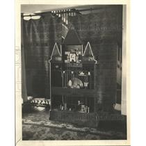 1921 Press Photo Inside of Clock at Reims Cathedral Built by A.C. Butter