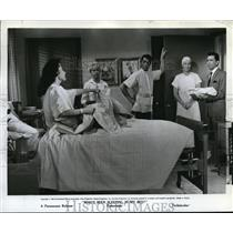 1964 Press Photo Dean Martin in Who's Been Sleeping in my Bed - orp20860