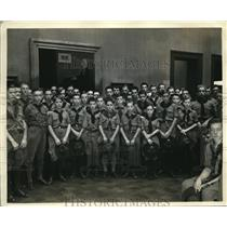 1933 Press Photo Springfield's Boy Scout Band