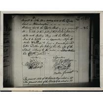 1930 Press Photo Sale of signatory's rare autographs of the Declaration