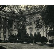 1923 Press Photo West wing of the White House in Wash DC