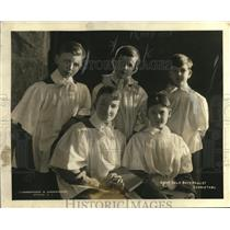1923 Press Photo Paulist choir singers & soloist Jack Huber