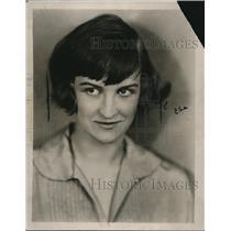 1924 Press Photo Martha Cestino won Dodd Mead prize