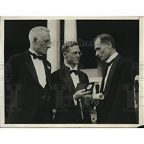 1969 Press Photo Professor Scott, R.F. Schurhardts and Allan Bertman