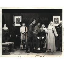 1930 Press Photo Richard Travers, Viola Ellen in The White Sister