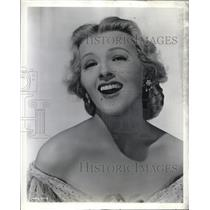 1948 Press Photo Ilona Massey in Balalaika