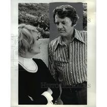 1972 Press Photo Hal Holbrook & Hope Lange in That certain summer - orp16469