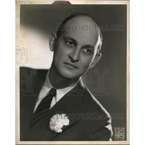 1950 Press Photo Robert Waldrop narrator of the Ohio Story
