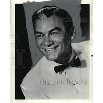1959 Press Photo Danny Martyn, Host
