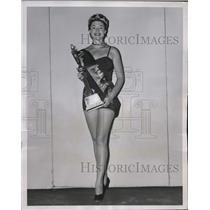 1952 Press Photo Mrs Mary Metz chosen Mrs Texas