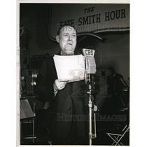 "1942 Press Photo Olyn Landick ""Kate Smith Hour"""