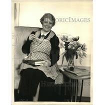 1937 Press Photo Aunt Jenny Real Life Stories - orp19207