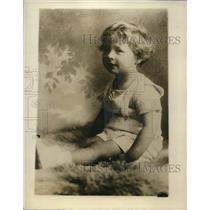 1927 Press Photo Prince Michael I of Romania