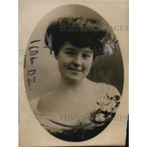 1919 Press Photo Heiress Princess Florence Hazard Auersperg