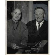 1957 Press Photo Leonard King Pendleton Rancher - ora46749