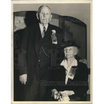 1948 Press Photo Mrs Albert Brown dies,only women Oregon Pioneer Assoc president