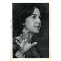 1981 Press Photo Lynn Feintech, political analysis, China drive to modernize