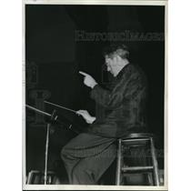 1918 Press Photo Dr. Artur Rodzinski Cleveland Orchestra Conductor