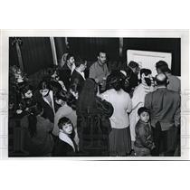 1966 Press Photo Gypsy Mourners Frank Ellis Body - ora39634