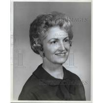 1964 Press Photo Mrs Rudy Kappell, Sales Rep Kappell's Old Holland Bakeries