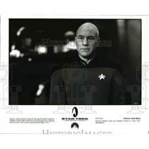 1994 Press Photo Patrick Stewart in Star Trek Generations