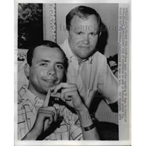 1966 Press Photo Michael and John Savko home after 90 days in Communist Jail.