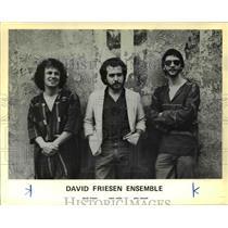 1981 Press Photo Mark Miller John Stowell David Friesen Ensemble Jazz Musicians