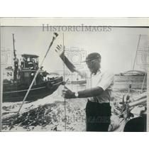 1966 Press Photo Francis Chichester, Aviator & Sailor