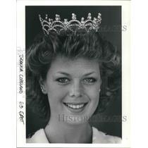 1985 Press Photo Deanna Copeland, Miss Metro East 1985 - ora08759